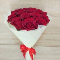 Букет из красных роз (15 шт.)