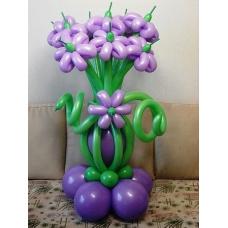 Букет цветов из шаров | Купить Букет цветов из шаров